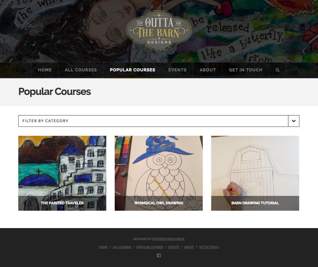Course Portfolio Webpage