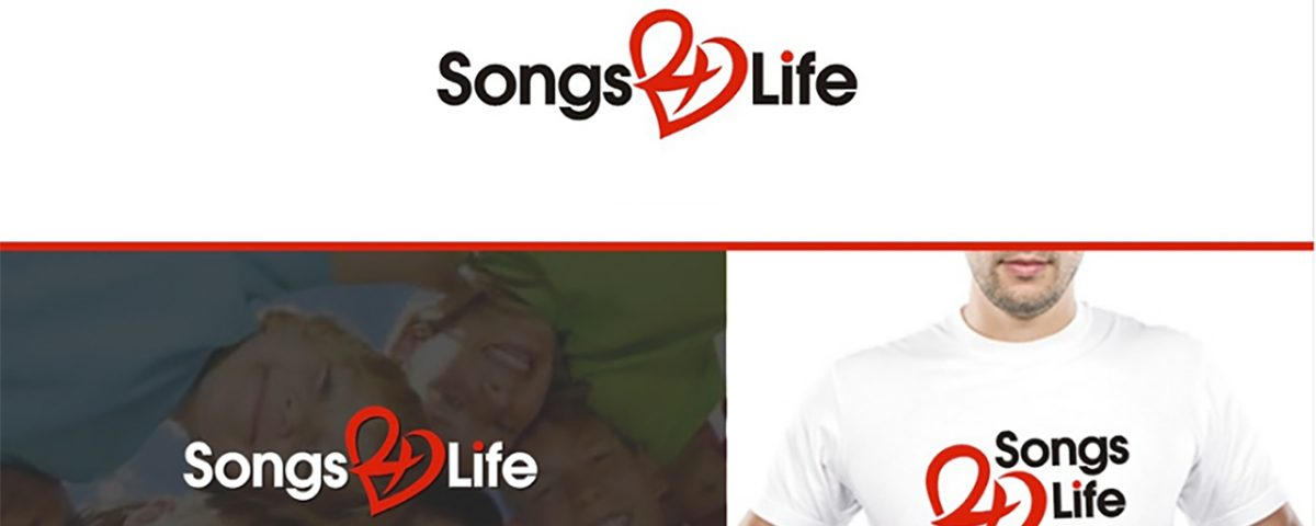 Songs 4 Life Charity Logo and Website Design
