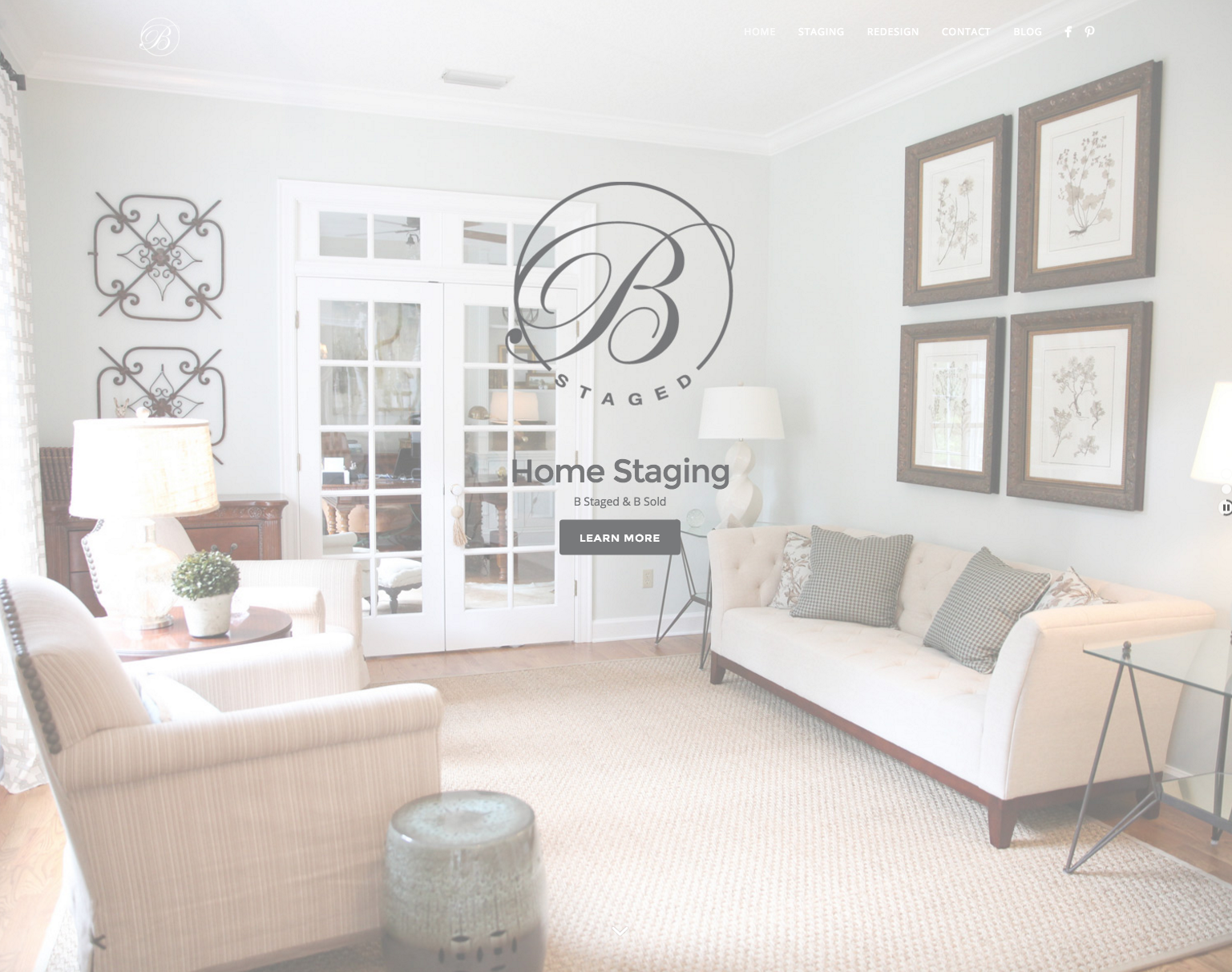 Home Staging Website Design