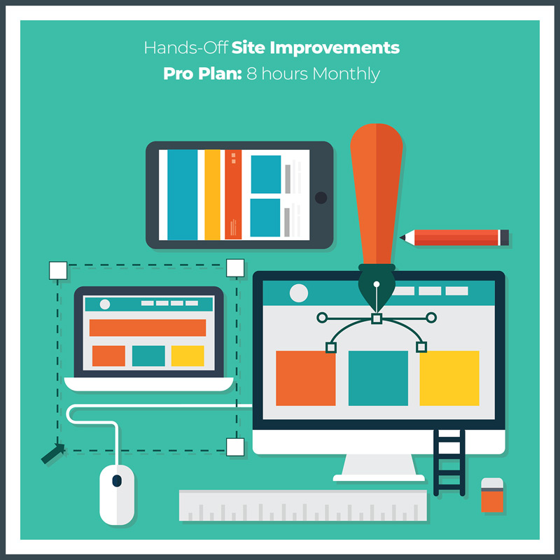 Website Maintenance Plan with 8 Dedicated Hours