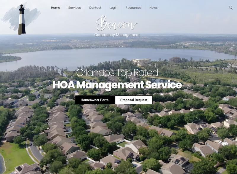 HOA Management Website Design